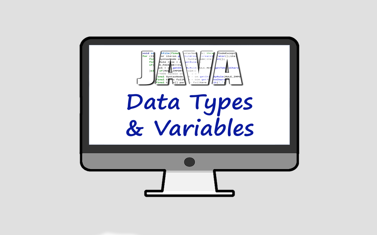 Java Data Types and Variables